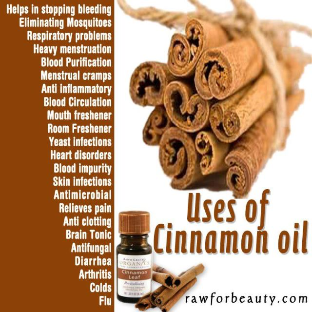 Benefits of Cinnamon Oil