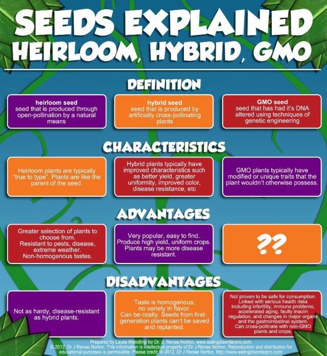 heirloom,hybrid,gmo