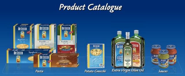 De Cecco products
