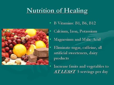 Fibromyalgia nutrition