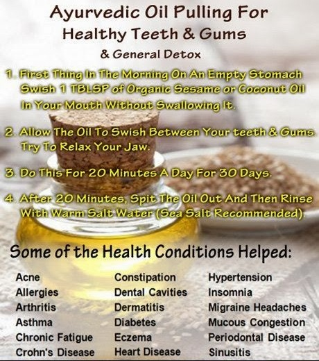oil pulling benefits
