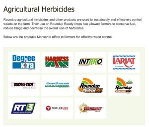 monsanto herbicide